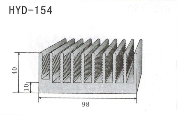 9cm型材散热器154