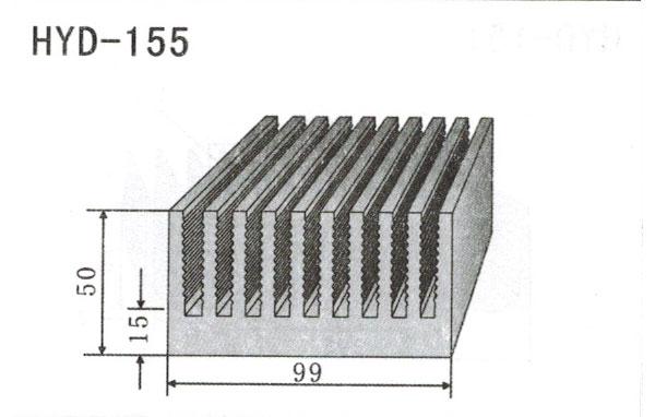 9cm型材散热器155
