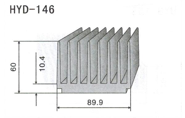 8cm型材散热器146