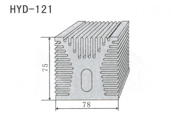 7cm型材散热器121