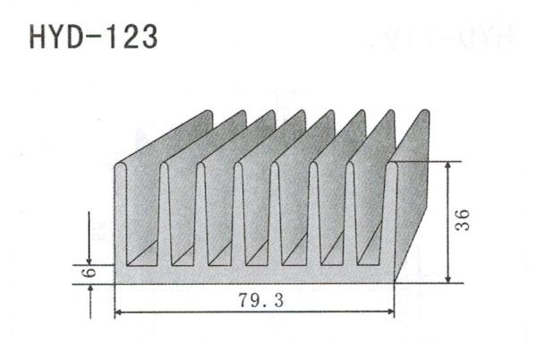 7cm型材散热器123