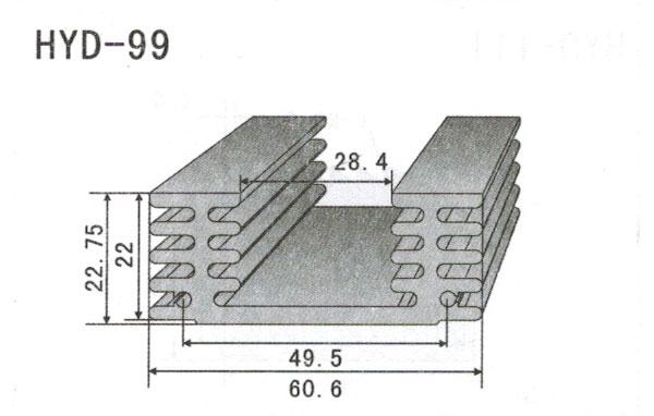 6cm型材散热器99