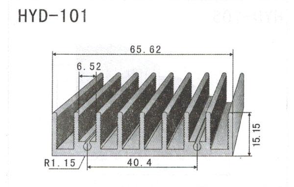 6cm型材散热器101