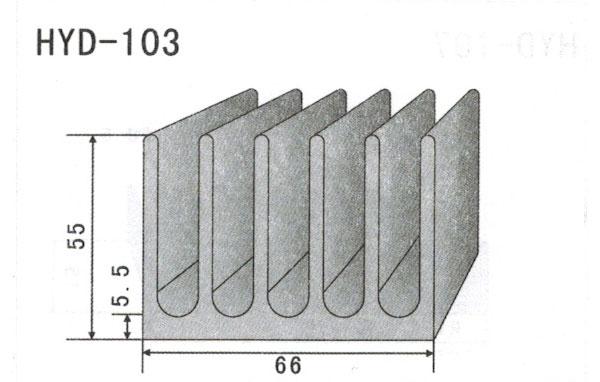 6cm型材散热器103