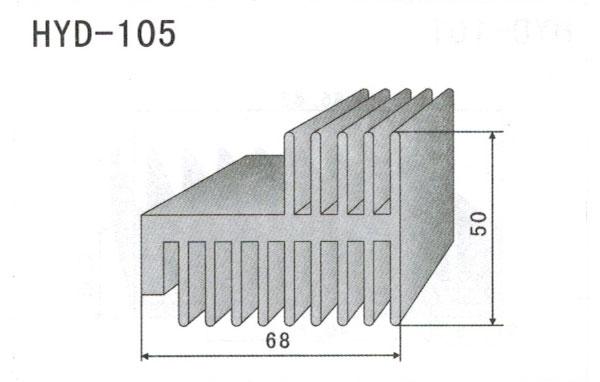 6cm型材散热器105