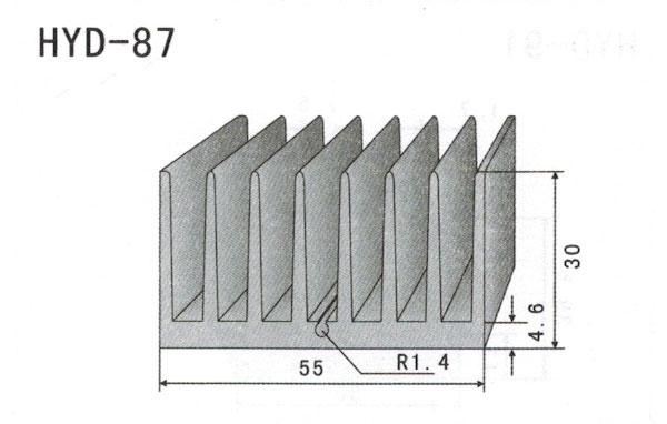 5cm型材散热器87