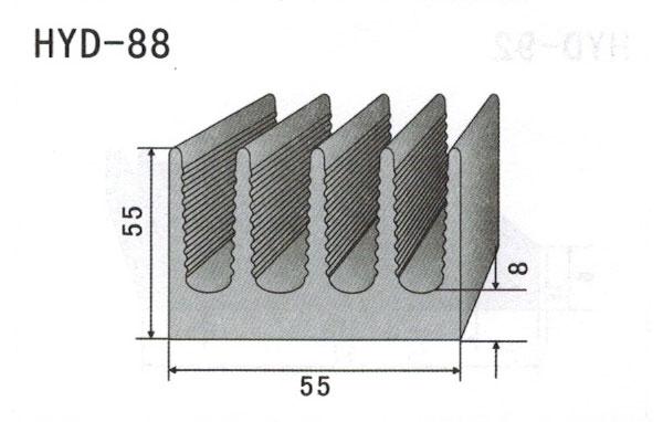 5cm型材散热器88