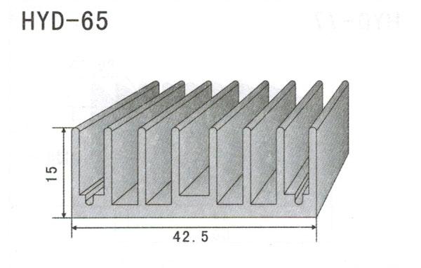 4cm型材散热器65
