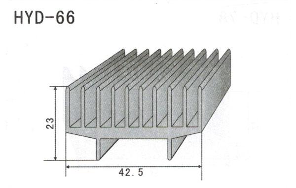 4cm型材散热器66