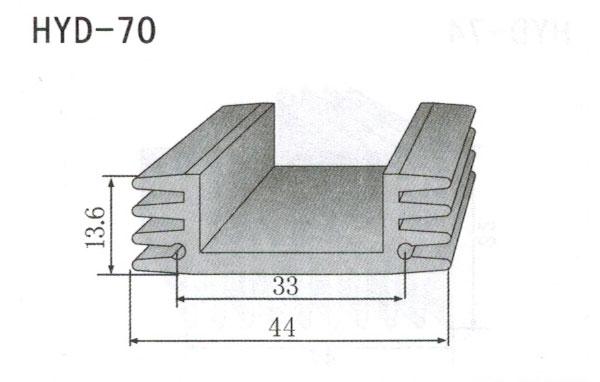 4cm型材散热器70