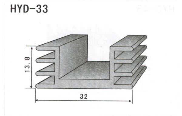 3cm型材散热器33