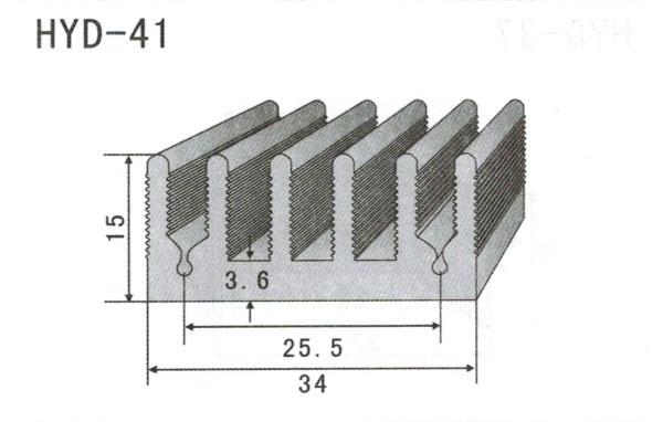 3cm型材散热器41