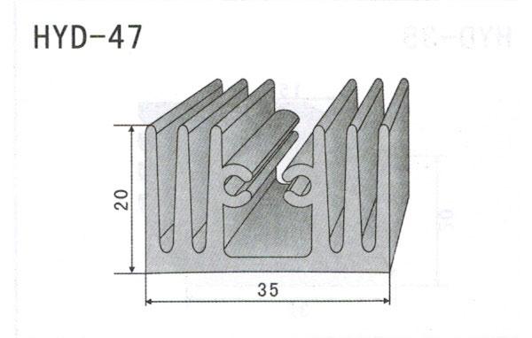 3cm型材散热器47