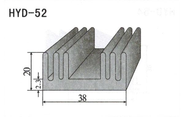 3cm型材散热器52