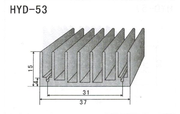 3cm型材散热器53