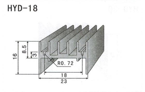 2cm型材散热器18