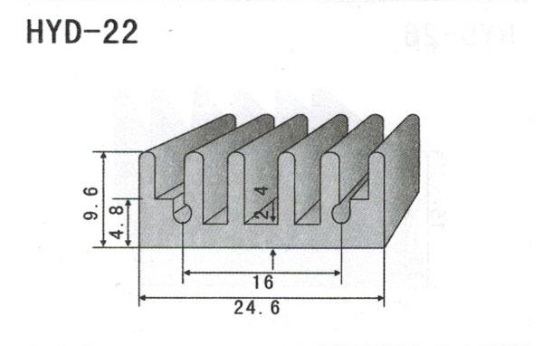 2cm型材散热器22