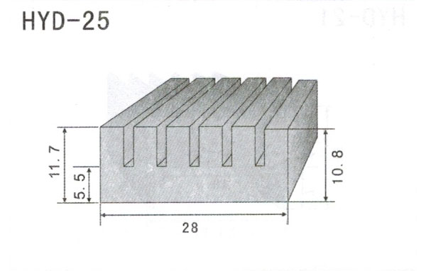 2cm型材散热器25