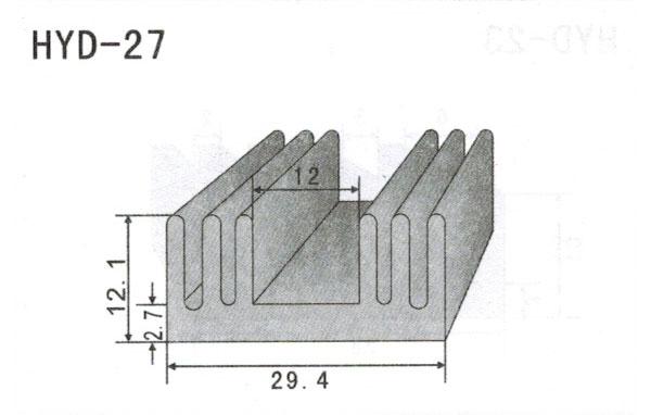 2cm型材散热器27