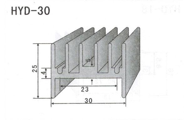 2cm型材散热器30