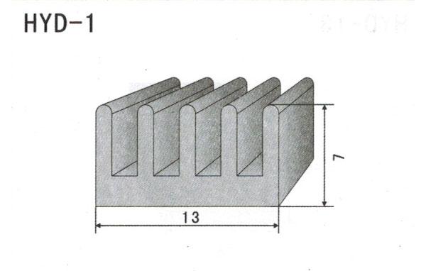 1cm型材散热器1