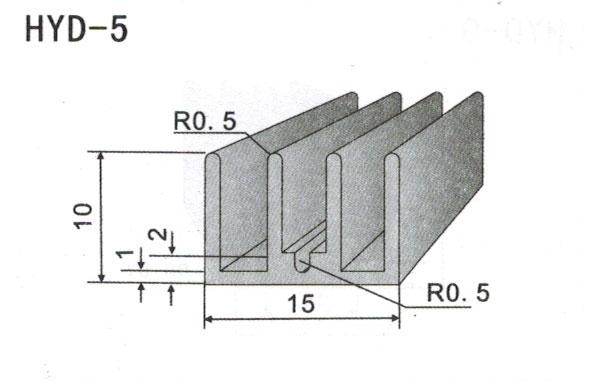 1cm型材散热器5