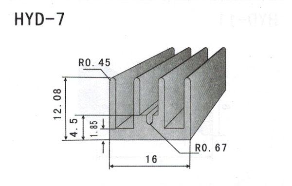 1cm型材散热器7