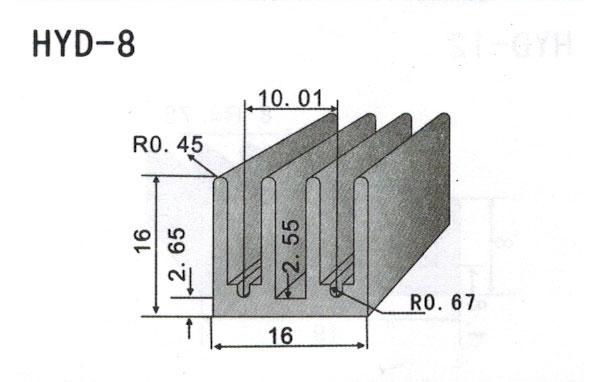 1cm型材散热器8
