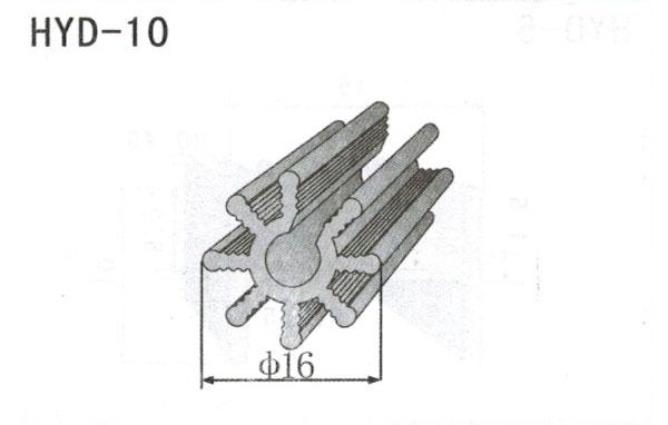 1cm型材散热器10