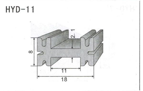 1cm型材散热器11