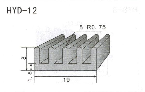 1cm型材散热器12