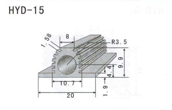 1cm型材散热器15