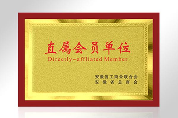 安徽省工商业联合会安徽省总工会直属会员单位