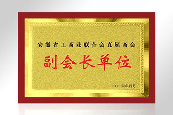 安徽省工商业联合会直属商会副会长单位