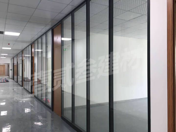 南宁玻璃隔断墙