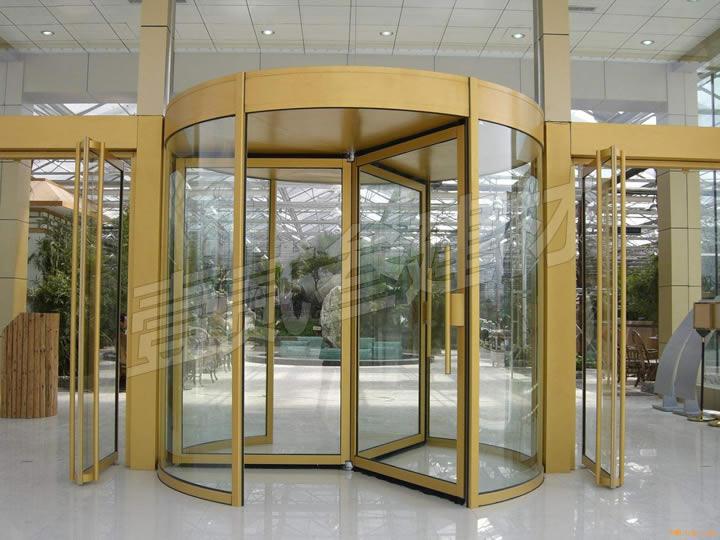 旋转门 玻璃旋转门 自动旋转门