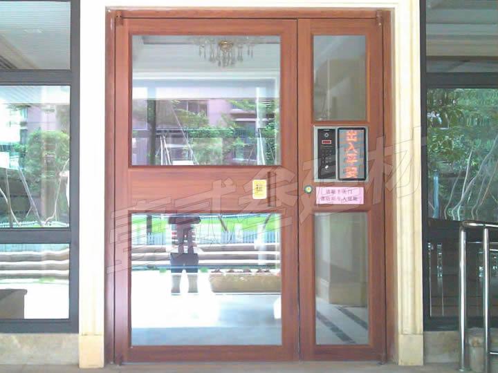 肯德基门 小区单元门