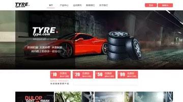 上海网站建设公司模板之智能建站系统TYRE
