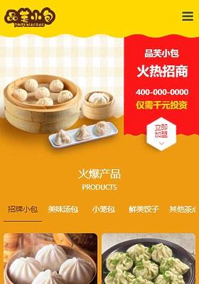 品笑小包模板上海网站建设公司样例