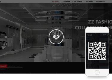 上海建网站案例二维码