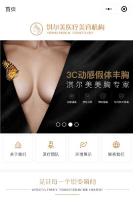 美容化妆网站设计就来上海佳汇
