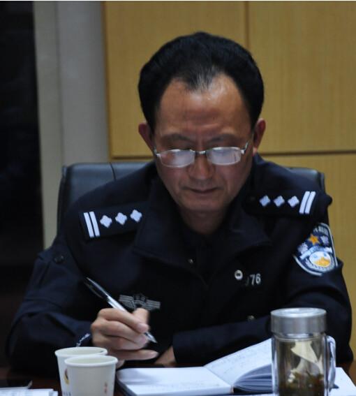 庐阳区公安分局陈指导员