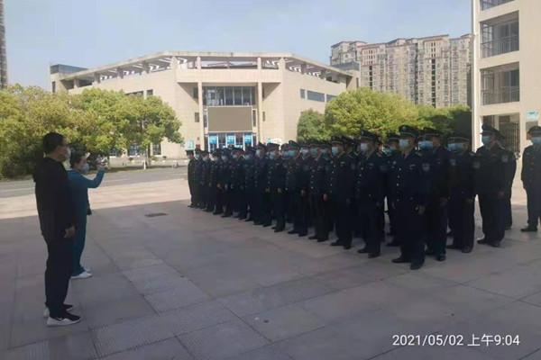 肥西县教体局安全科赵科长作工作部署