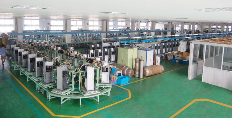 山東小鴨集團生產線安裝工程
