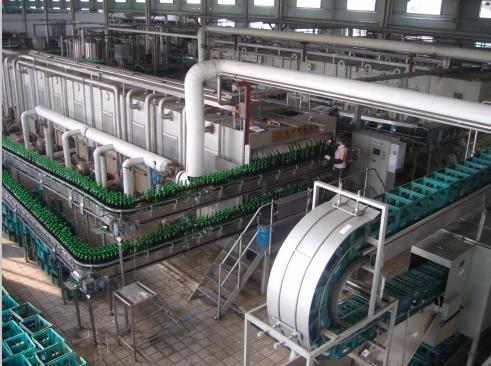 趵突泉啤酒生產線安裝工程