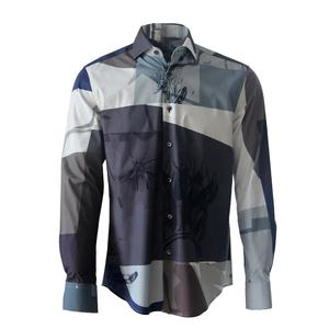 Long Sleeve Men Casual Shirt