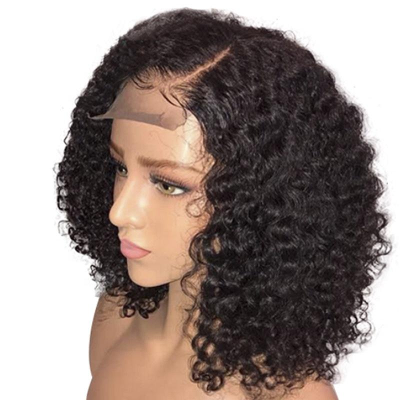 Wholesale Transparent 613 Bob Human Hair Lace Frontal Wigs For Black Women