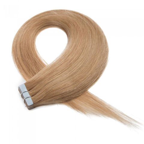 100% Human Hair tape in hair extensions remy