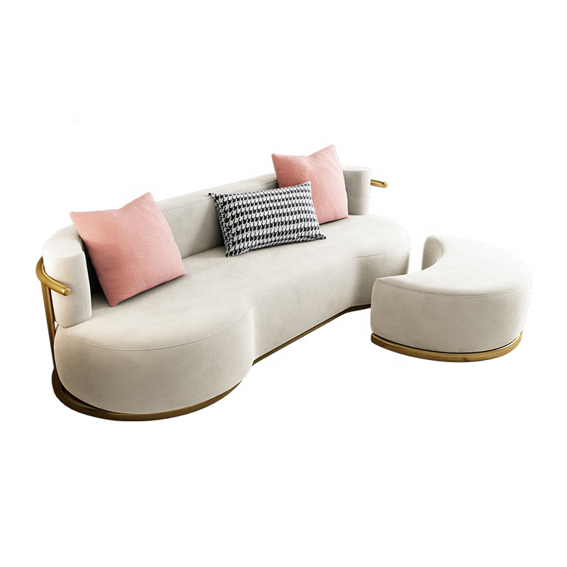 Jasiway luxury furniture modern stylish houseware soft sofa set