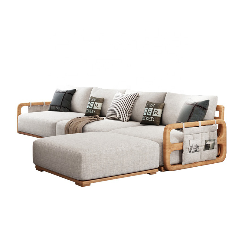 Jasiway Modern Modular Leisure L Shaped Corner Couch Living Room Sofa Set For Home